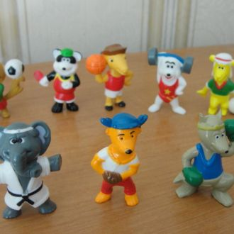 Киндер,Бофрост,Животные спортсмены 1997г.
