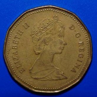 Канада 1 доллар 1987 года