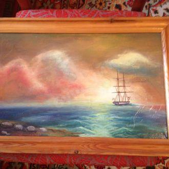 картина море айвазовский пейзаж