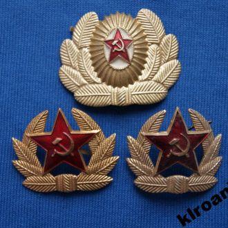 СССР Кокарды СА  3 шт