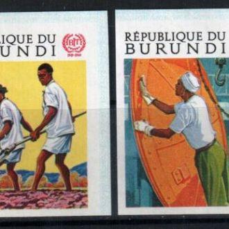 Бурунди 1969 Годовщина ИЛО MNH