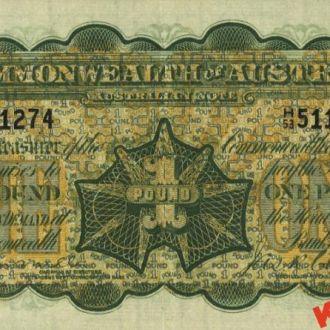 Австралия 1 фунт 1923 год. КОПИЯ