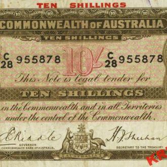 Австралия 10 шиллингов 1934 год. КОПИЯ