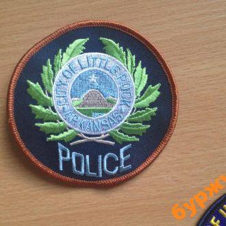 шеврон полиция США штаты мвд Арканзас Литл РОК