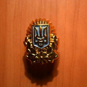 Кокарда МВД Украина (старая) (пластик)