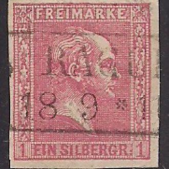ГЕРМАНИЯ ПРУССИЯ №6 1857