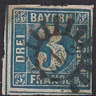 ГЕРМАНИЯ БАВАРИЯ 1849