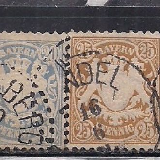 ГЕРМАНИЯ БАВАРИЯ 1881 10 ЕВРО