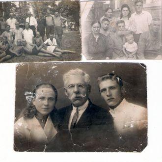 Семья Максиме/-нко/ 1929 - 32 гг