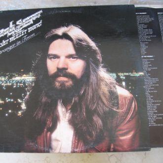 Bob Seger (+ Glenn Frey, Don Felder= ex Eagles + ex Traffic : Stranger in Town  ( USA ) LP