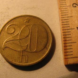 20 геллерів Чехословаччина Чехословакия 1977