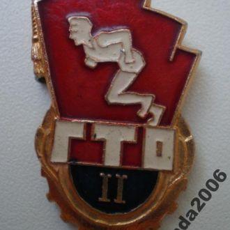 ЗНАК КОПЛЕКСА ГТО!2СТ.!СССР!1961-1972г.г.!1
