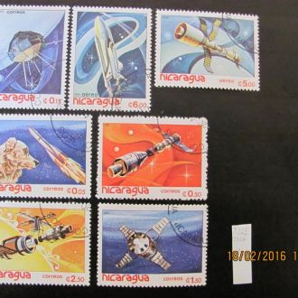 никарагуа космос 1982 гаш