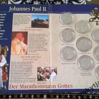 Колекция монет Папа ПавелII от Орден Госпитальеров