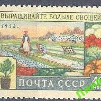 СССР 1954 сельское хозяйство с/х овощи флора *с