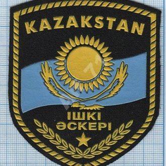 Шеврон ВВ МВД Внутренние войска  Республики Казахстан.