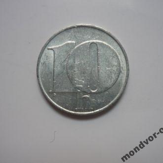 Чехословакия (ЧСФР) 10 геллеров 1992