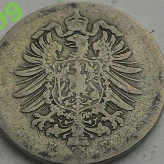 10 пфеннигов 1889 ГЕРМАНИЯ