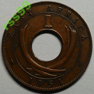 Восточная Африка 1 цент 1951 год ОТЛИЧНАЯ!!!
