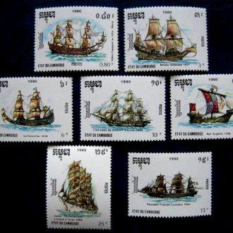 судна корабли яхты катера камбоджа парусники на сл т