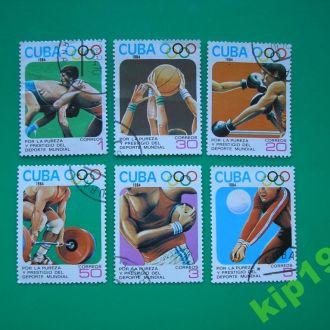 Куба 1984 Спорт