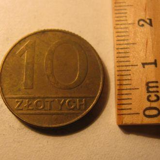 10 Злотих Злотых Польща Польша 1990 рік