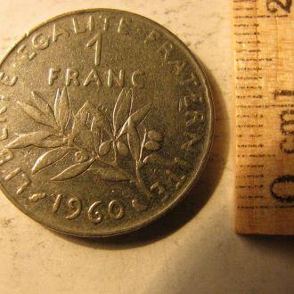 1 Франк Франція Франция 1960 рік