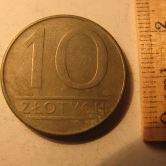 10 Злотих Злотых Польща Польша 1988 рік