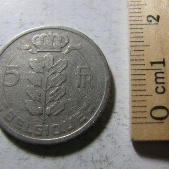 5 Франков Бельгія Бельгия 1950 рік