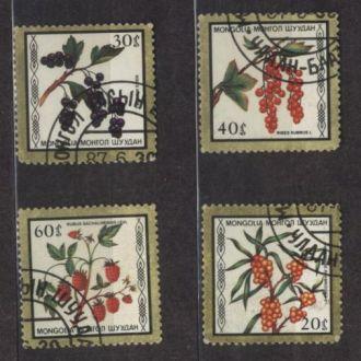 Флора Цветы 1987 Монголия