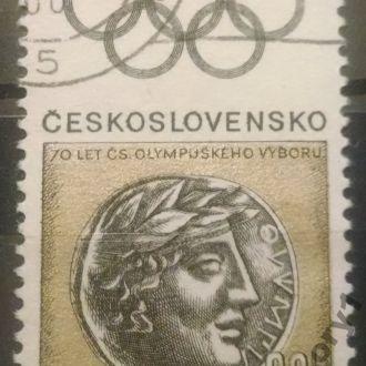 марки Чехословакия спорт монета с 1 гривны