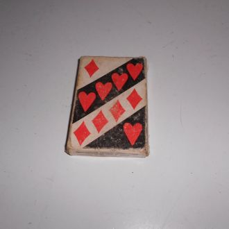 игральные карты атласные СССР раритет  1991г
