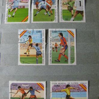 Спорт Куба Лот марок Куба 34 шт Полные серии