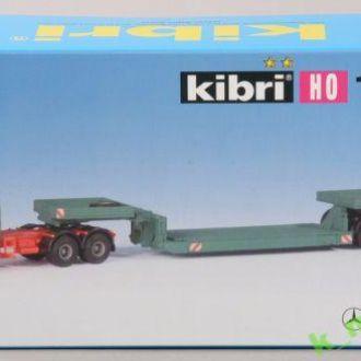 Тягач MB с прицепом-транспортёром KIBRI 14647-1:87(НО)