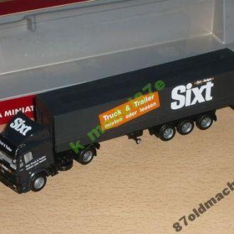 Тягач Mercedes-Benz SK прицепом Sixt-1:87(HO)