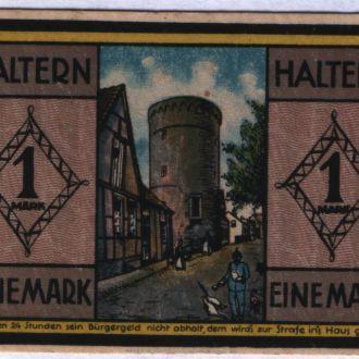 Германия нотгельд  1 марка 1921 г