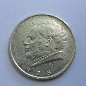 Австрия 2 шиллинга 1928 г