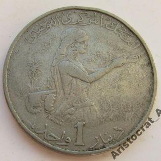 Тунис 1 динар 1983 (КМ#304)