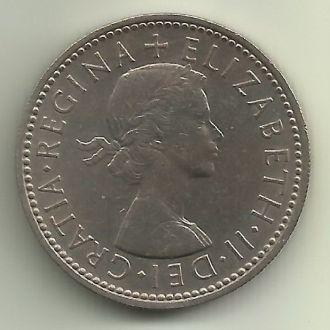 Великобритания Элизабет II шиллинг 1961 английский