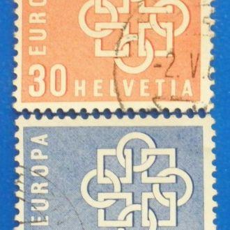 Швейцария. 1959 г. Европа