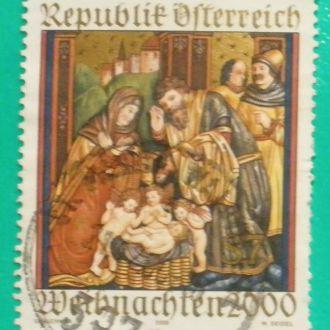 Австрия. 2000 г. Рождество