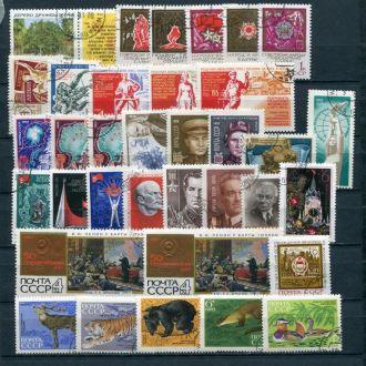 Подборка гашенных марок