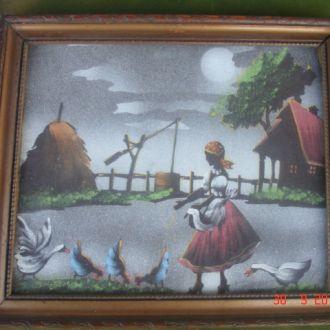 Картина на ткани царизм