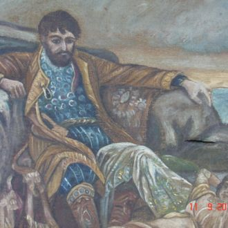 Картина сюжет из сказки холст царизм