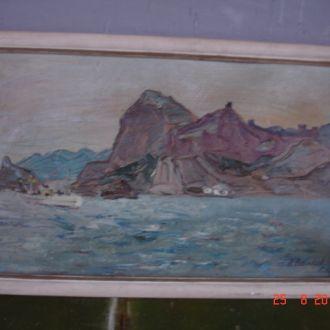 Картина морская тема Васильев