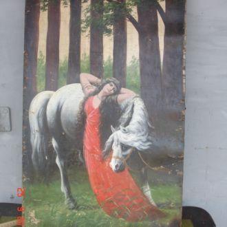 Картина на дереве модерн Васнецов царизм