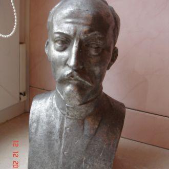 Бюст Дзержинского большой алюминий
