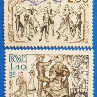 Франция. 1981 г. Европа