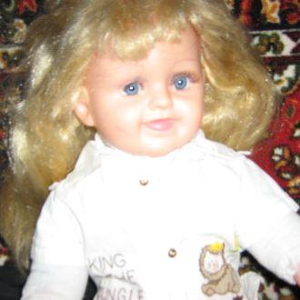 кукла блондинка армированная   53 см