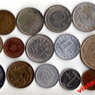 Монеты Мира 16шт №43